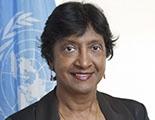 Sra. Navanethem Pillay, Alta Comisionada de la ONU para los Derechos Humanos
