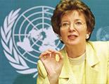 Sra. Mary Robinson, Alta Comisionada de la ONU para los Derechos Humanos, 1997 - 2002