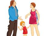 Test sobre el derecho a vivir con los padres (2-9)